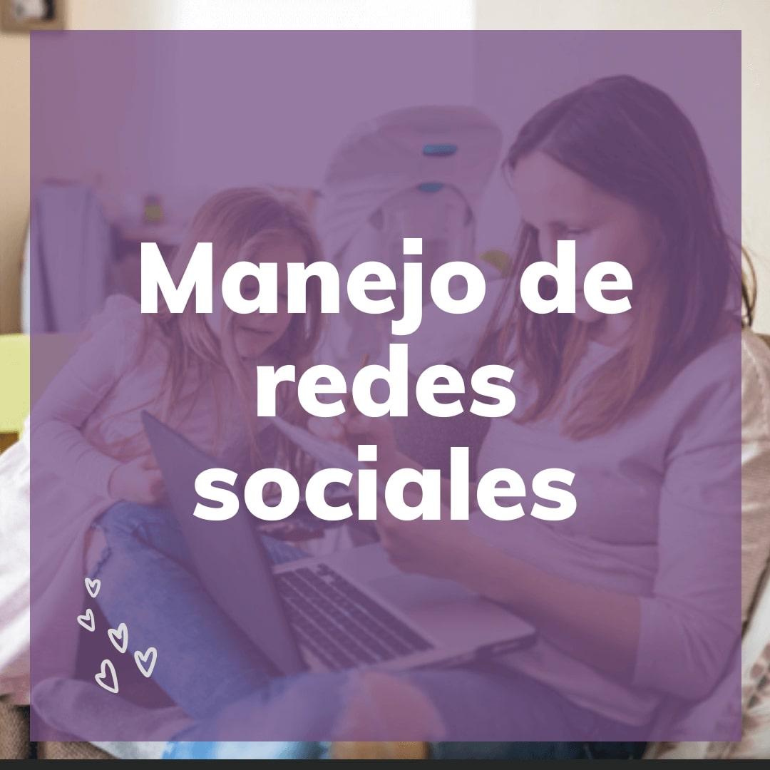 Manejo de redes sociales_mamá emprendedora_momfriendly